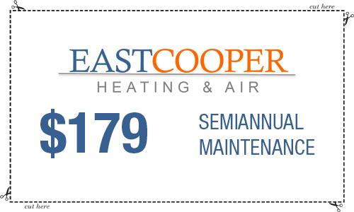 Coupon HVAC maintenance