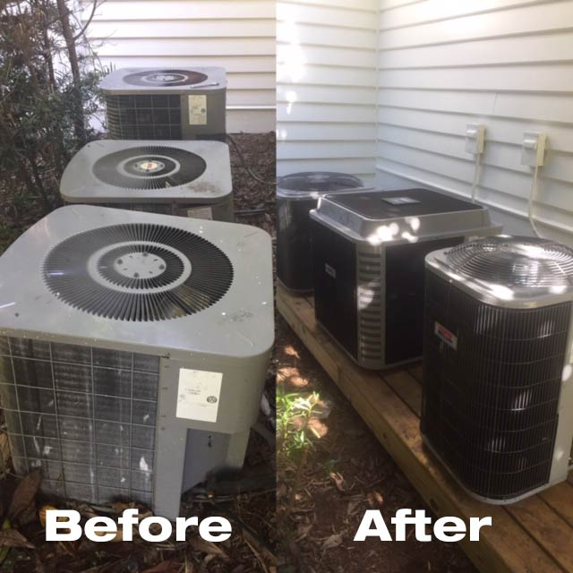 Hvac 3 System Installation Project By East Cooper Heating